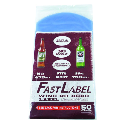 FastLabel 22 oz Bomber / Wine Sleeves