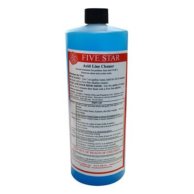 Five Star Acid Line Cleaner #6 32 Ounce