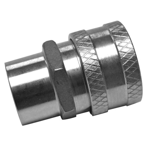 "Stainless Steel Female Quick Disconnect 1/2"" Female NPT"