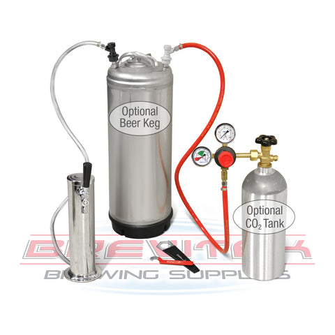 Stainless Steel Single Tap Draft Tower Kit
