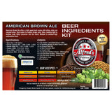 Alfred's American Brown Ale Recipe Kit