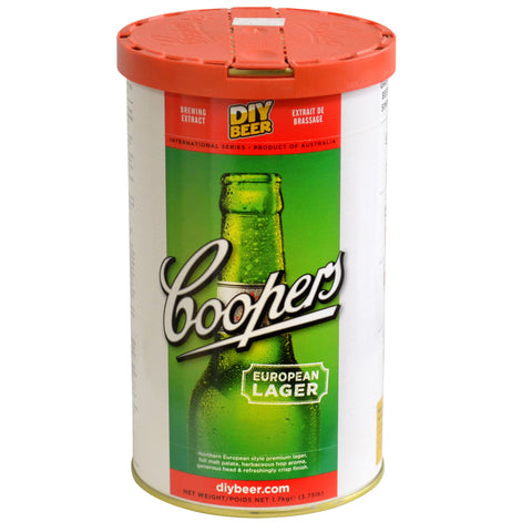 Coopers International European Lager Can