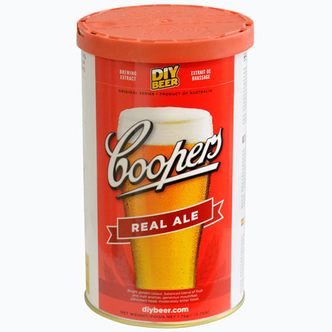 Coopers Real Ale Beer Can