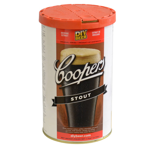 Coopers Stout Beer Can