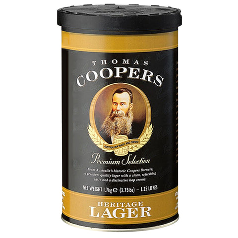 Coopers Selection Heritage Lager Can