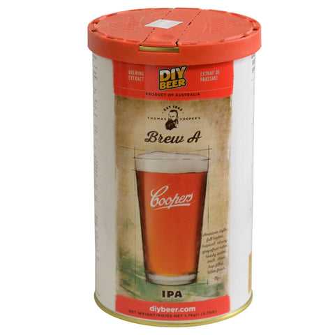 Coopers Thomas Selection Brew A IPA Beer Can