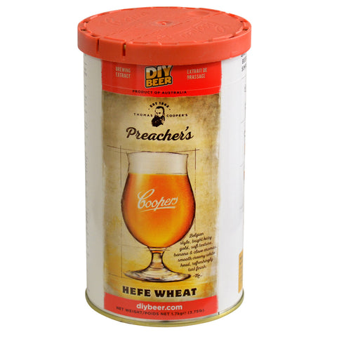 Coopers Thomas Selection Preacher's Hefe Wheat Beer Can