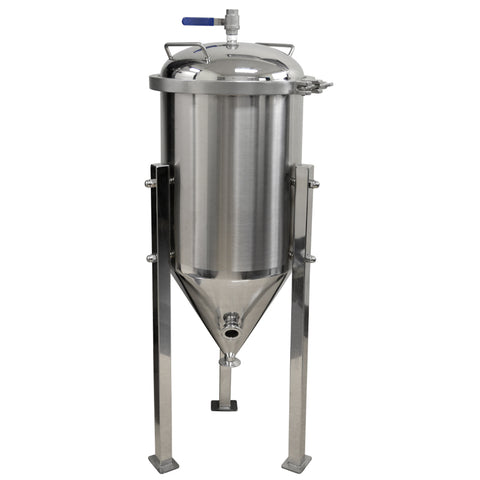 7 Gallon Conical Fermenter Stainless Steel