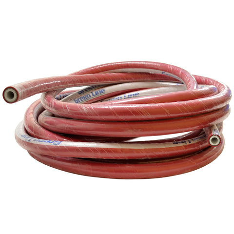 "Brewers Hose Reinforced 1/2"" Red by the foot"