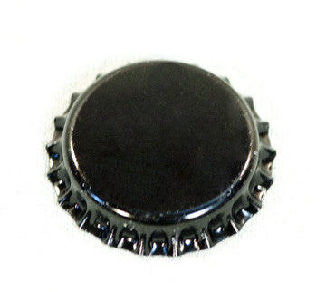 Beer Bottle Cap Twist Off Black (60/Pack)