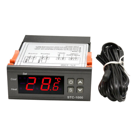 Electronic Thermostat Control 5 to 95 Degree C W/6ft Cable