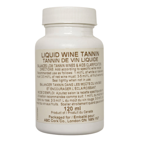 Liquid Wine Tannin 120 ml
