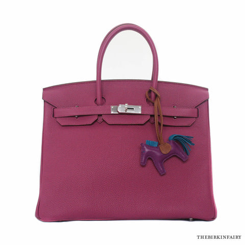 Hermes Tosca Birkin with Palladium Hardware