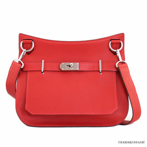 Hermes Rouge Casque Red Jypsiere 31cm NEW!