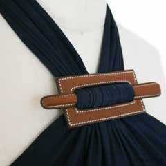 Hermes Dress with Barenia Closure - Size 34