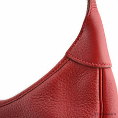 31cm Hermes Red Trim II w/ Gold Hardware and Duster