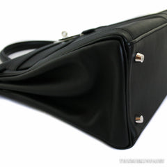 Hermes 35cm Black Kelly Lakis in Swift Leather - NEW!