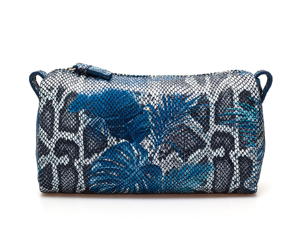 Cosmetic Pouch | Jade ⋅ Jungle ⋅ Blue