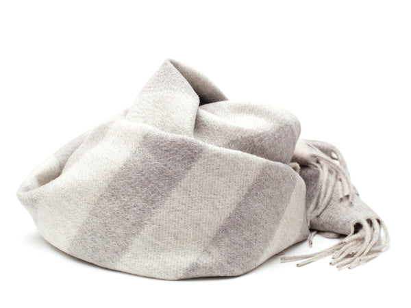 Scarf | Vanda ⋅ Grey/White