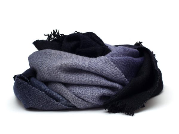 Scarf | Valencia ⋅ Black/Blue