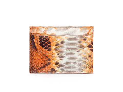 Card Holder | Python⋅ Olivia ⋅ Arancio