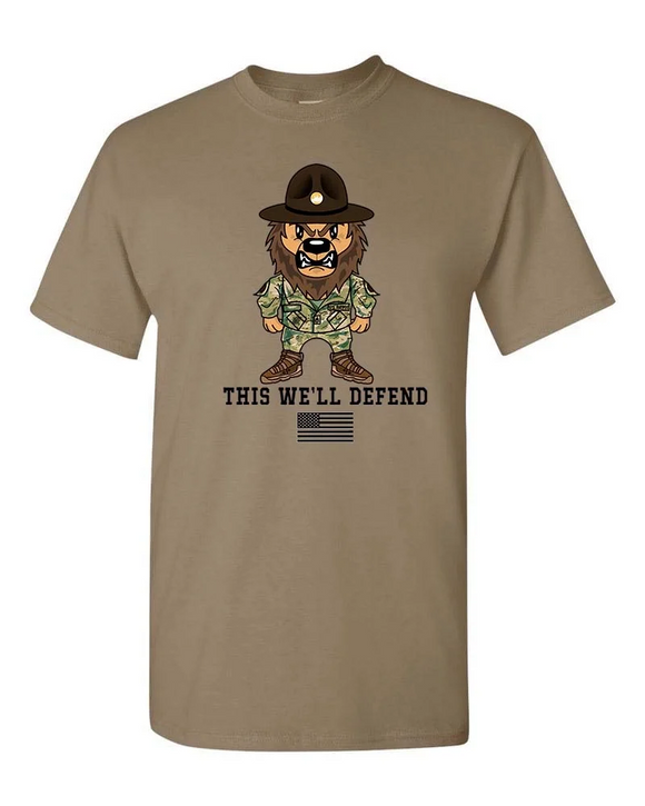 Trey Joins the Army Short Sleeve