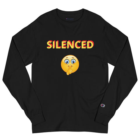 Men's Champion SILENCED Long Sleeve Shirt