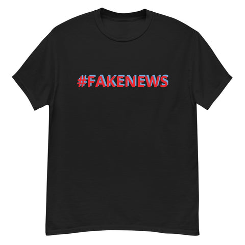 Men's FAKE NEWS heavyweight tee