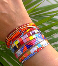 Load image into Gallery viewer, COLORAMA Miyuki Tila Bracelet