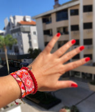 Load image into Gallery viewer, HOT IN RED Loom Bracelet