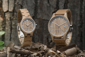 Watches made of interesting materials
