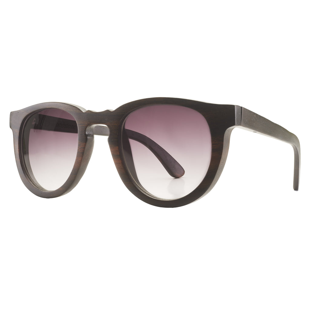 Woodstone Eleanor wooden eyewear side