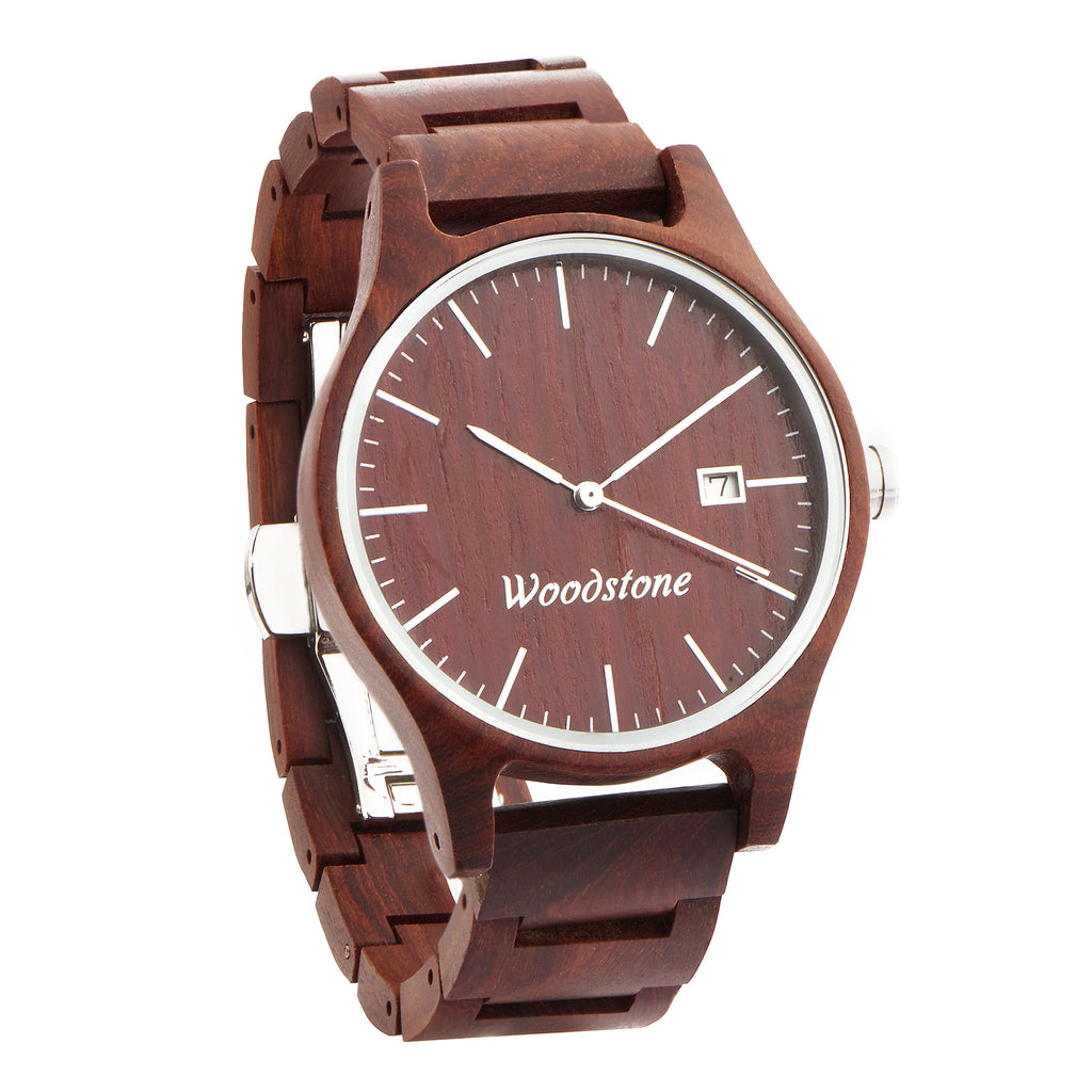 Troy rose wood wooden watch