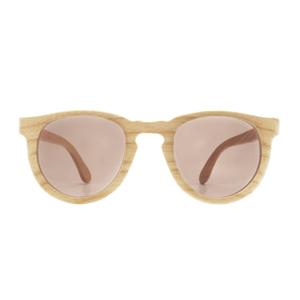 Woodstone Eleanor oak wooden eyewear