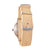 Troy Maple Wood Canvas Mens Wooden Watch Back