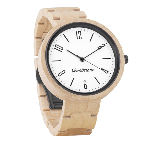 Explorer maple wood wooden watch