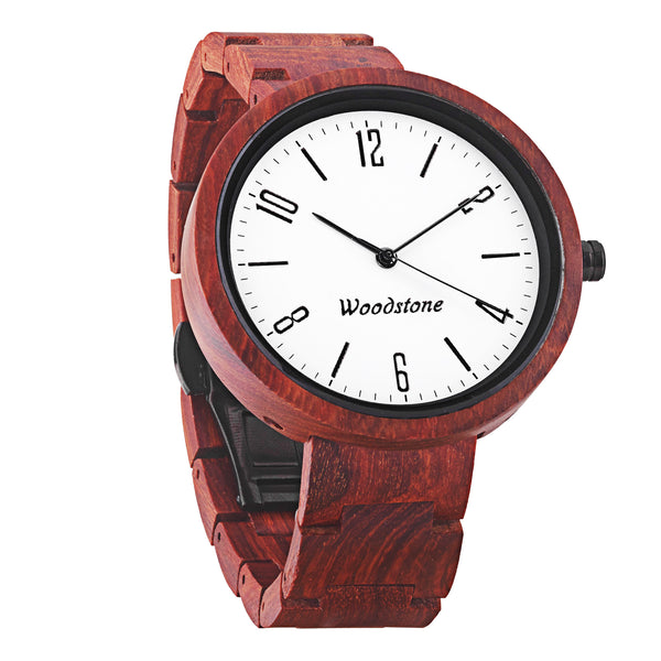 Explorer rose wood wooden watch