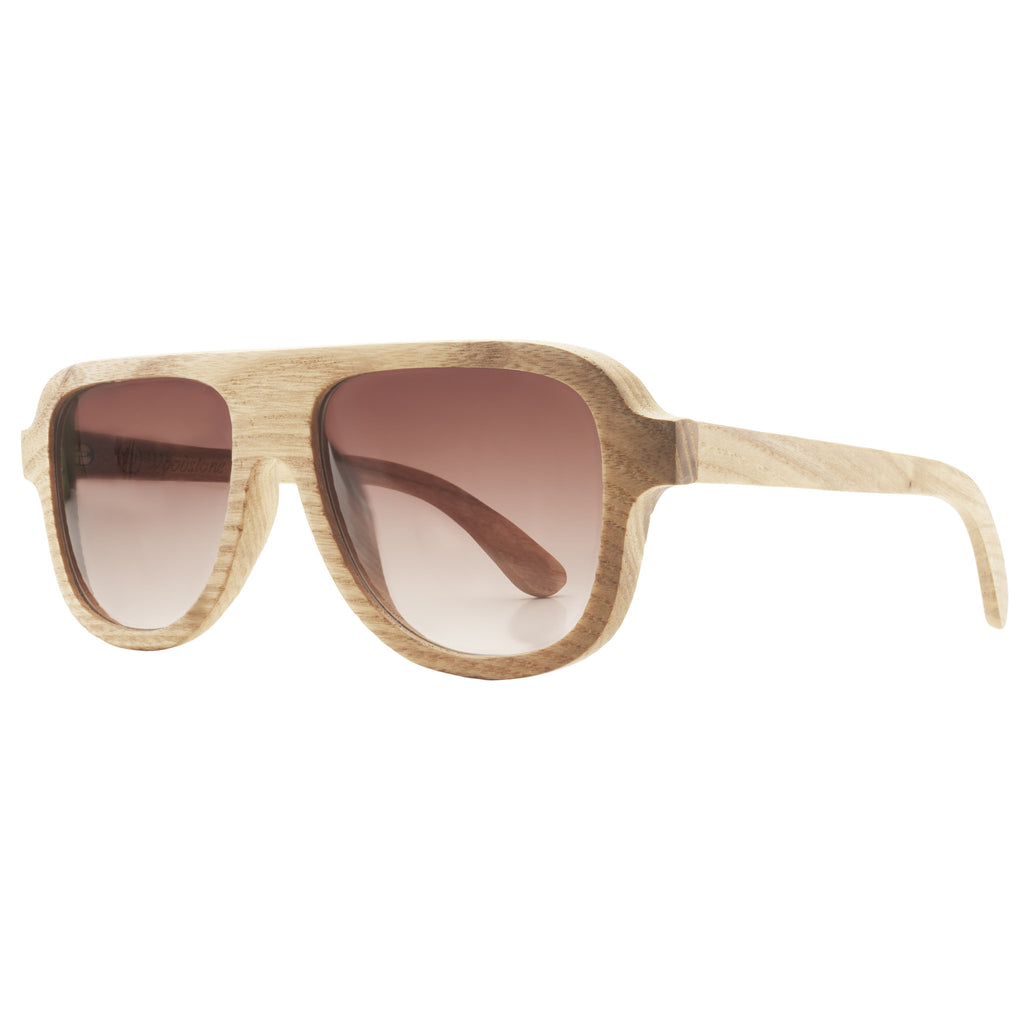 Woodstone James Oak Wooden Eyewear Side