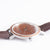Woodstone Serenity Walnut Women's Wooden Watches - Silver Side