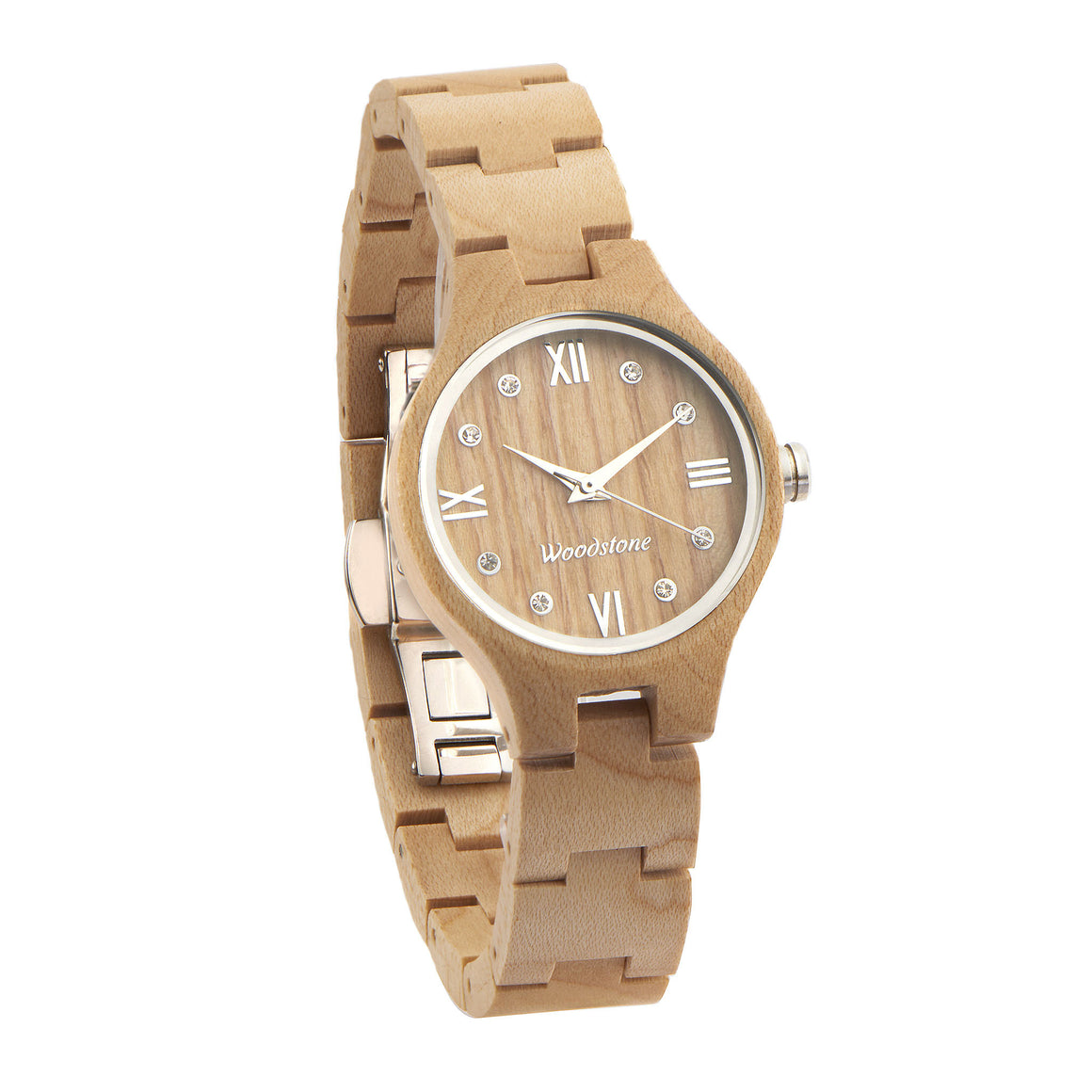 Queen maple wood wooden watch