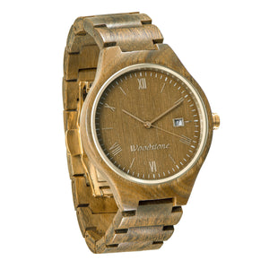 Rome Green Sandalwood Wooden Watch