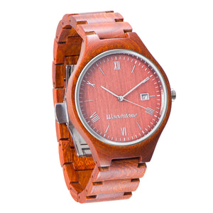 Rome rosewood wood watch