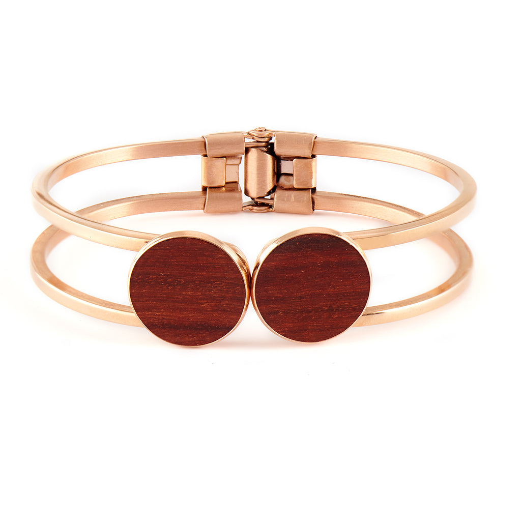 Olivia Rosewood - Rosegold Bangle