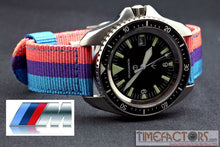 Load image into Gallery viewer, TIMEFACTORS 2-PIECE NYLON WITH DEPLOYANT CLASP