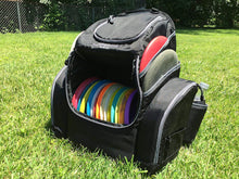 Load image into Gallery viewer, The Throwback Pack 2.0 - Disc Golf Backpack with Dual Coolers - Frisbee Disc Golf Bag That Holds 20-25 Discs