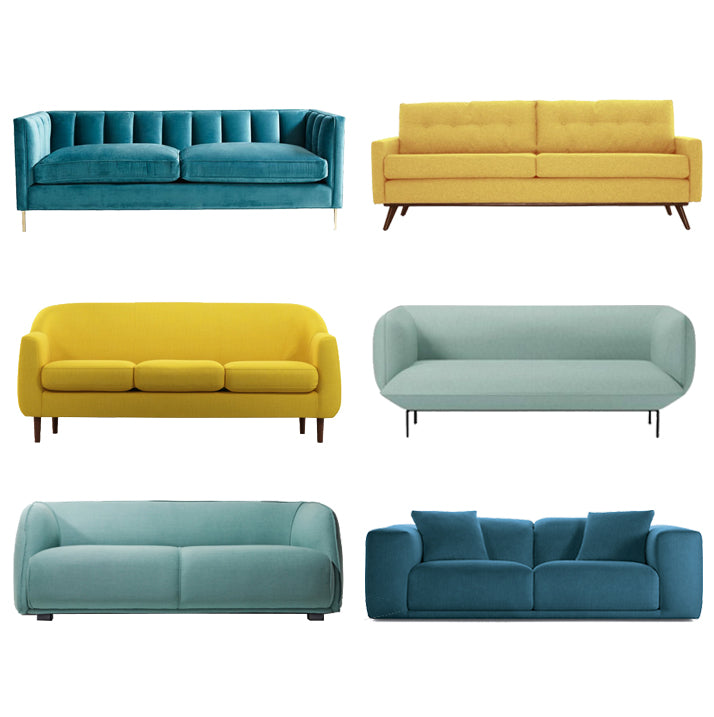 Guest Roundup: Colorful Modern Sofas