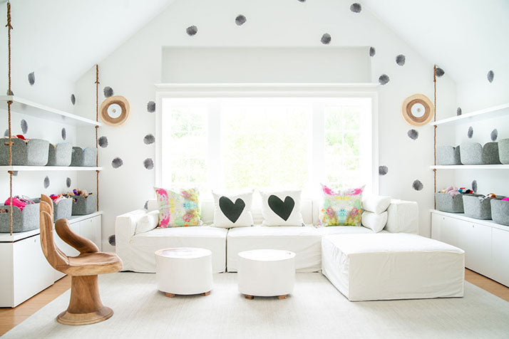 Get the Look: Cheery White Playroom