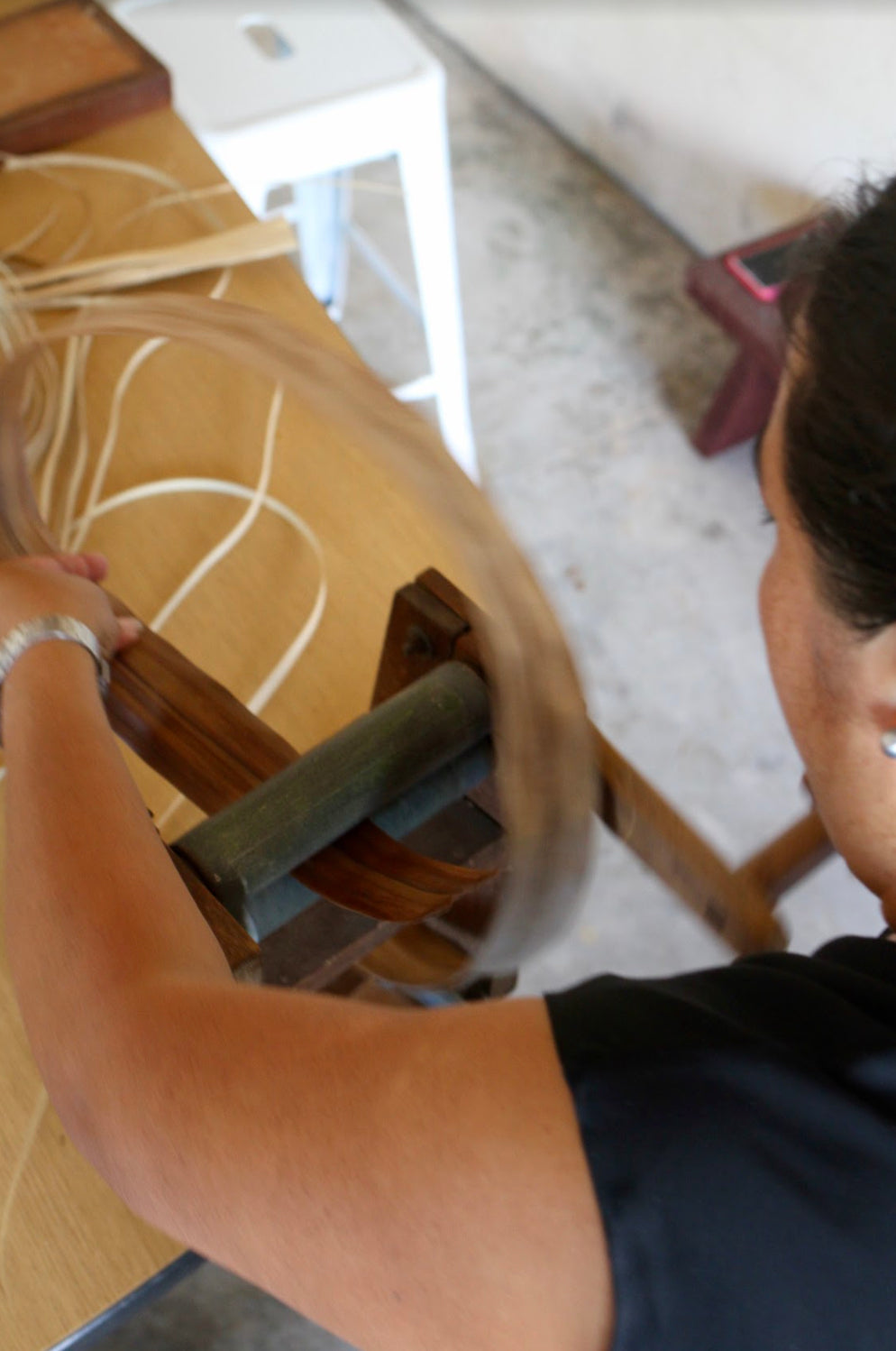 behind the scenes of making the lauhala hardware