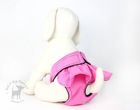 Dog Diapers with frill for female dogs training sanitary reuseable doggie diapers
