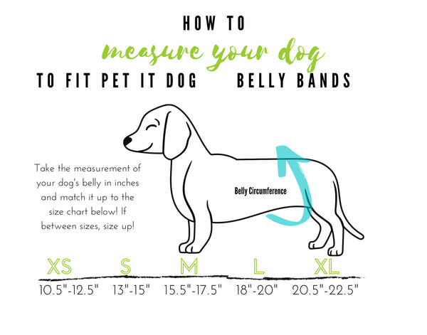Camo Belly Band for male Dogs Stop Marking Inside green and grey camo print